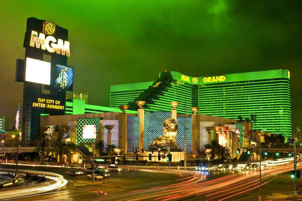 The MGM Grand is the world's biggest casino complex.